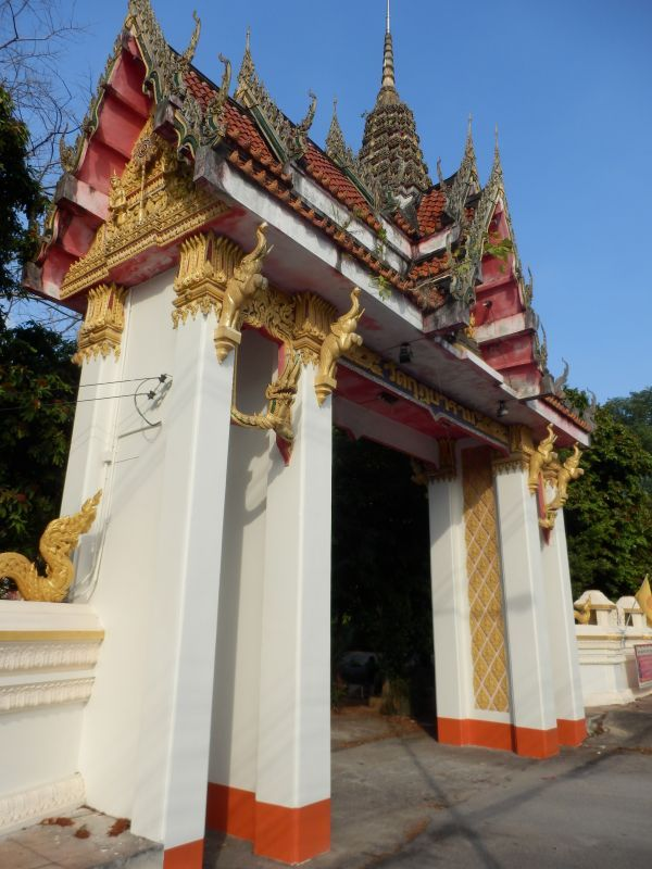 Eingangstor zum Wat