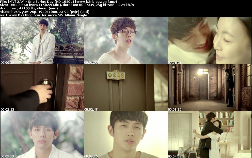 (MV) 2AM - One Spring Day (HD 1080p Youtube)
