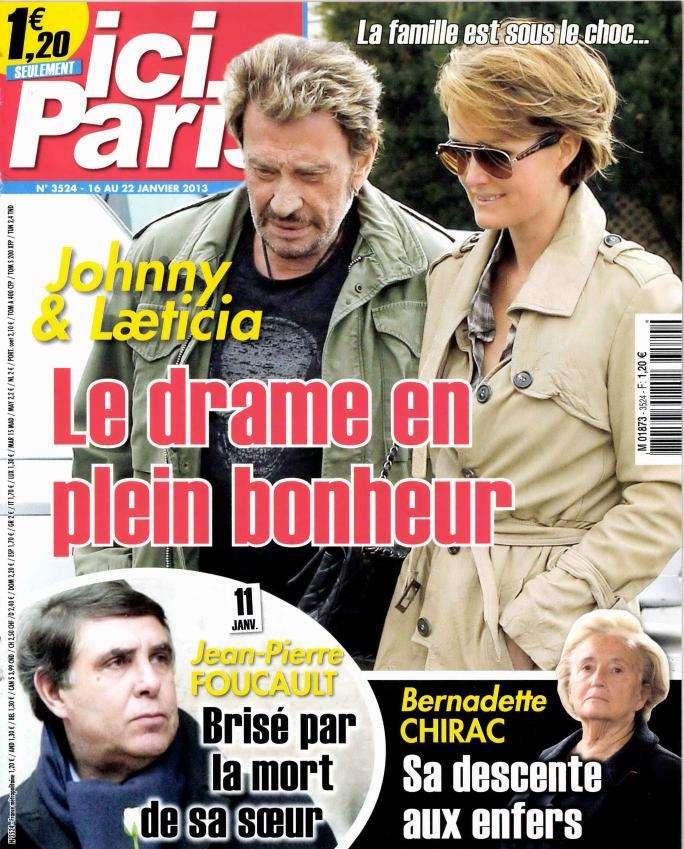 Ici Paris N°3524 du 16 au 22 Janvier 2013